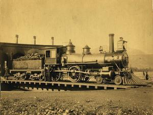 Northern Pacific Railroad Locomotive 162