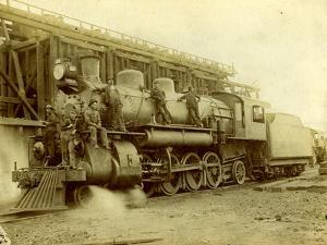 Northern Pacific Railway Locomotive No. 1617 at Pasco, Wa