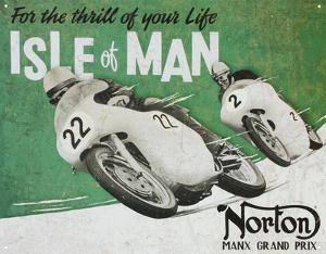 Norton Manx Grand Prix Isle of Man Motorcycle Racing