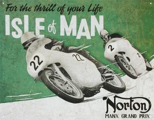 Norton Manx Grand Prix Isle of Man Motorcycle Racing