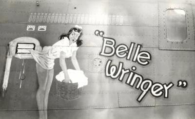 Nose Art, Belle Wringer, Pin-Up