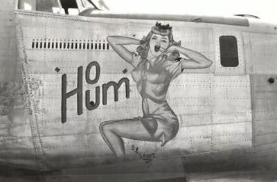 Nose Art, Ho Hum, Pin-UP