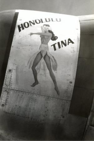 Nose Art, Honolulu Tina Pin-Up