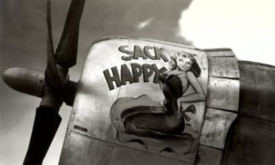 Nose Art, Sack Happy Pin-Up
