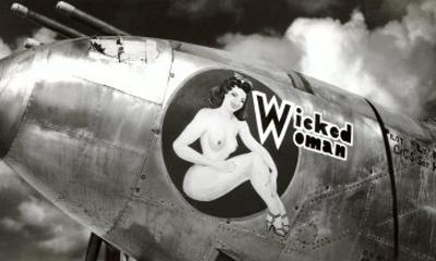 Nose Art, Wicked Woman Pin-Up
