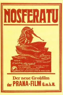 Nosferatu Movie Max Schreck 1922 Poster Print