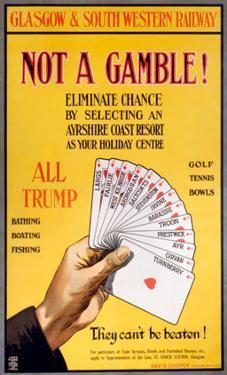 Not a Gamble!, GSWR, c.1910
