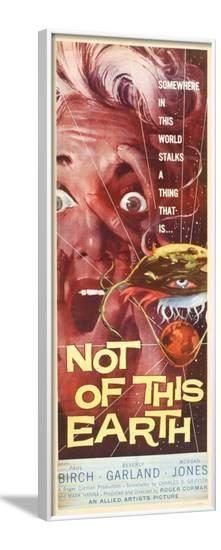 Not of this Earth--Framed Poster