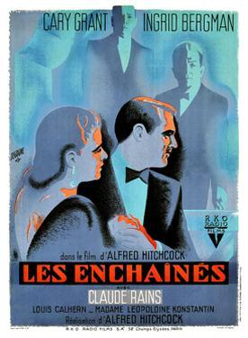 Notorious, (AKA Les Enchaines), 1946