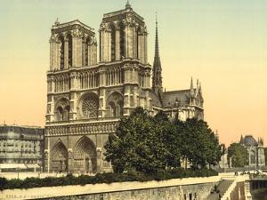 Notre Dame, Paris, France, c.1890-1900