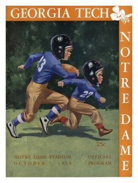 Notre Dame vs. Georgia Tech, 1939