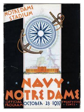 Notre Dame vs. Navy, 1937