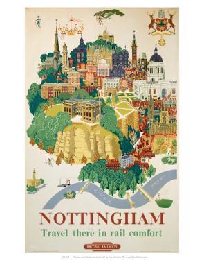 Nottingham, BR, c.1953