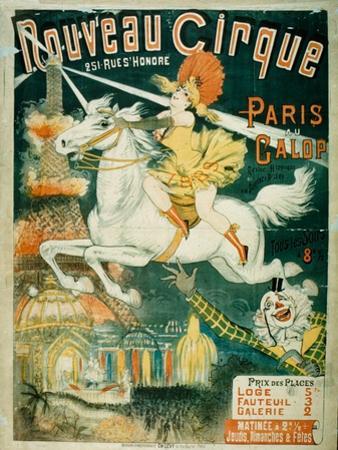 Nouveau Cirque, 1889