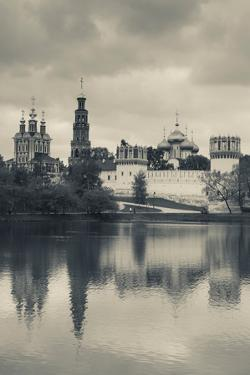 Novodevichy Monastery at Late Afternoon, Khamovniki-Area, Moscow, Russia