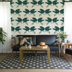 Palm Marine Self-Adhesive Wallpaper by Novogratz