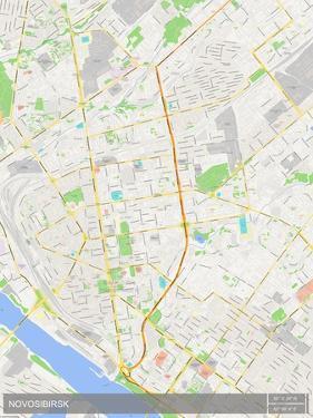 Novosibirsk, Russian Federation Map