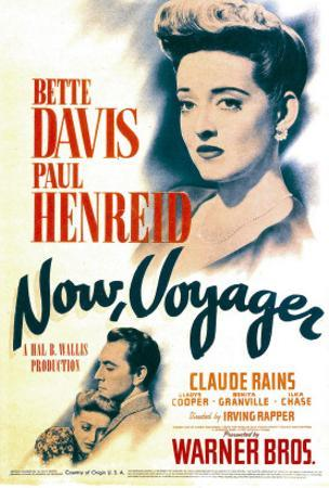 Now, Voyager, Bette Davis, Bette Davis, Paul Henreid on Midget Window Card, 1942