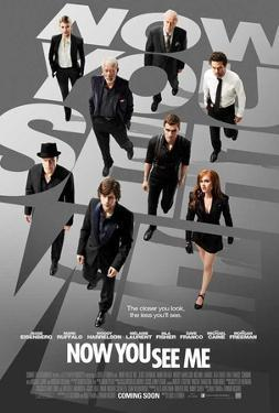 Now You See Me (Jesse Eisenberg, Mark Ruffalo, Woody Harrelson) Movie Poster