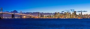 Bay Bridge and San Francisco by nstanev