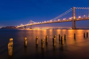 San Francisco Bay Bridge by nstanev