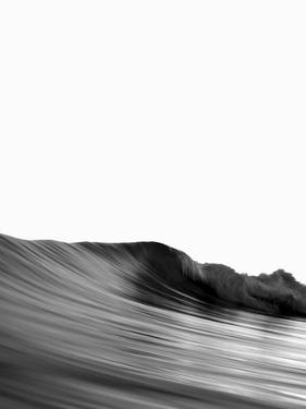 Wave Black And White by NUADA
