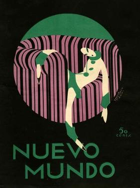 Nuevo Mundo, Magazine Cover, Spain, 1920