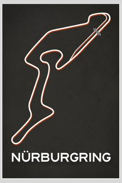 Nurburgring Race Course Plastic Sign
