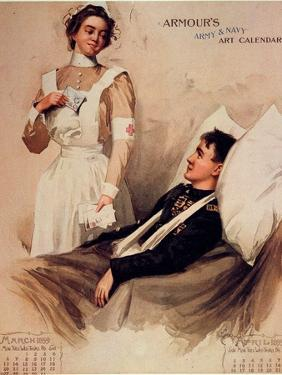 Nurse: Calendar, 1899