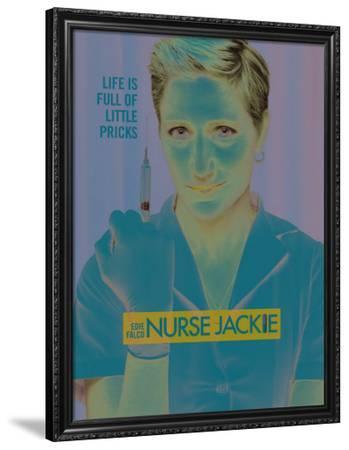 Nurse Jackie (TV)--Framed Poster