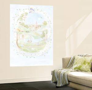 Nursery Land Huge Mural Art Print Poster