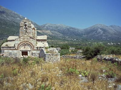 Church, Mani, Greece, Europe