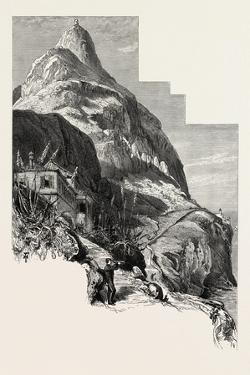 O'Hara Tower and the Governor's Cottage, Gibraltar and Ronda, 19th Century