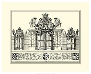 Grand Garden Gate I by O. Kleiner