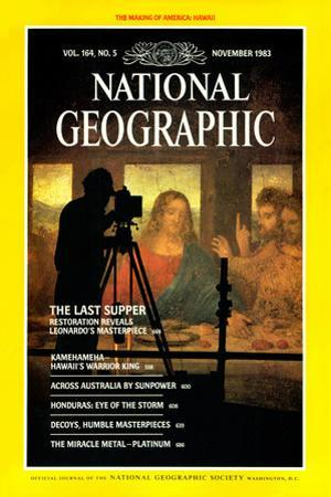 Cover of the November, 1983 National Geographic Magazine