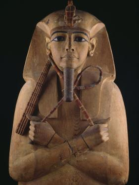 Wooden Coffin Case of the Pharaoh Ramses II by O. Louis Mazzatenta