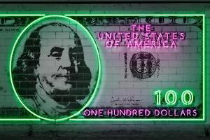 100 dollars by O.M.