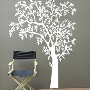 O?Nature White Wall Decal