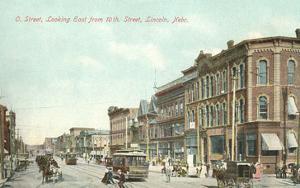 O Street and 10th, Lincoln, Nebraska