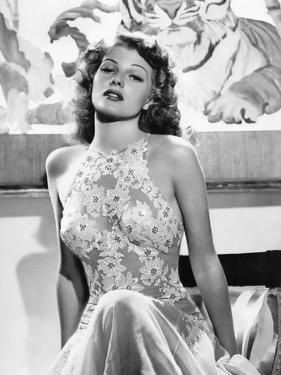 O toi ma Charmante YOU WERE NEVER LOVELIER by WilliamSeiter with Rita Hayworth, 1942 (b/w photo)
