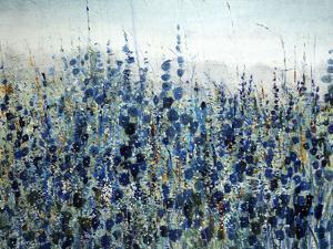 Blue Hollyhock by O'Toole O'Toole