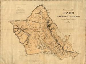 Oahu, Hawaiian Islands, c.1881