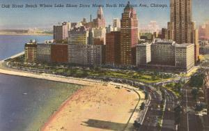 Oak Street Beach, Chicago, Illinois