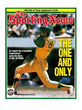 Oakland A's OF Reggie Jackson - August 2, 1993