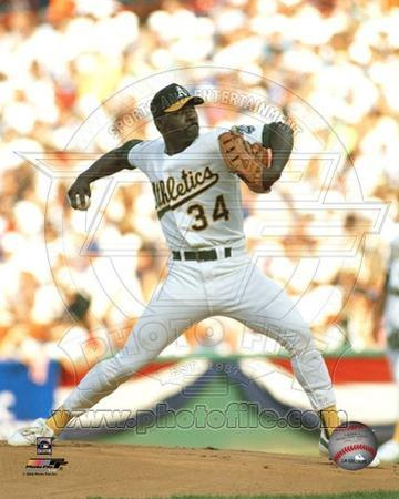 Oakland Athletics - Dave Stewart Photo