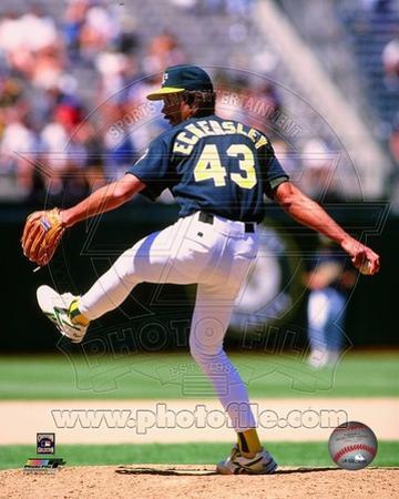 Oakland Athletics - Dennis Eckersley Photo