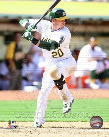 Oakland Athletics Josh Donaldson 2013 Action