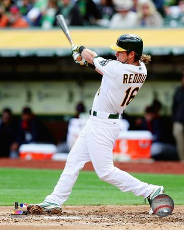 Oakland Athletics - Josh Reddick 2014 Action