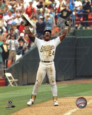 Oakland Athletics - Rickey Henderson Photo