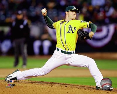 Oakland Athletics - Sonny Gray 2014 Action